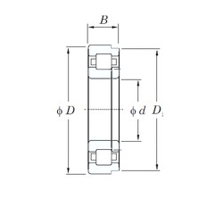 65 mm x 160 mm x 37 mm  KOYO NUP413 cylindrical roller bearings
