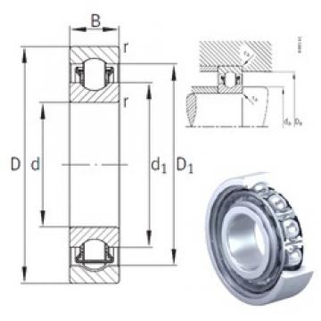 20 mm x 42 mm x 12 mm  INA BXRE004 needle roller bearings