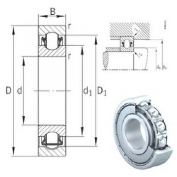 60 mm x 95 mm x 18 mm  INA BXRE012-2Z needle roller bearings