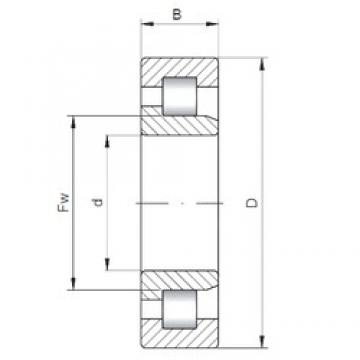 65 mm x 100 mm x 18 mm  ISO NJ1013 cylindrical roller bearings