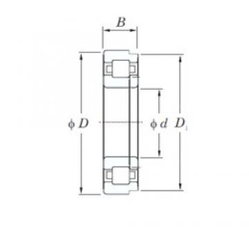 55 mm x 90 mm x 18 mm  KOYO NUP1011 cylindrical roller bearings