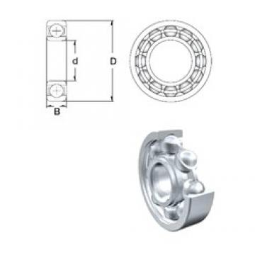 160 mm x 200 mm x 20 mm  ZEN 61832 deep groove ball bearings