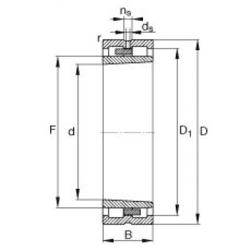 130 mm x 180 mm x 50 mm  FAG NNU4926-S-K-M-SP cylindrical roller bearings