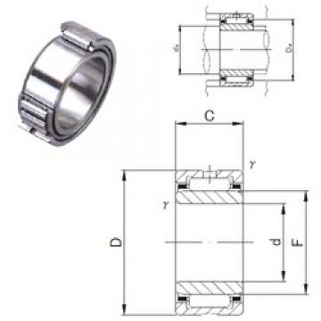 130 mm x 180 mm x 50 mm  JNS NA 4926 needle roller bearings