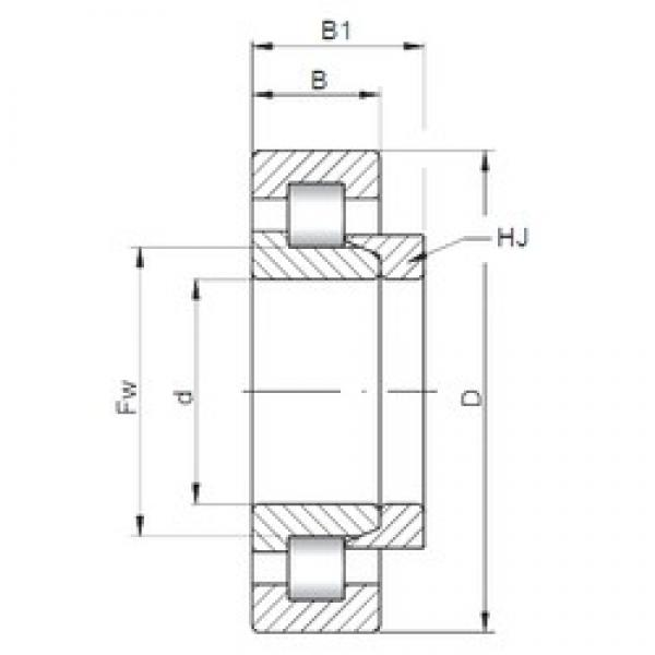 65 mm x 160 mm x 37 mm  ISO NH413 cylindrical roller bearings #1 image